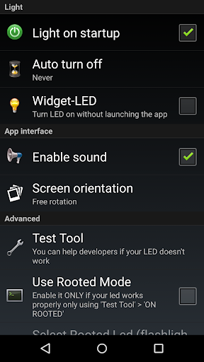 Flashlight HD LED  screenshots 4