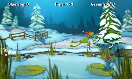 A Frog Game Winter AdFree