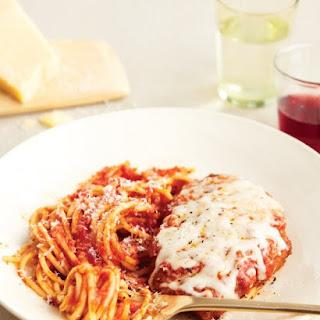 Chicken or Veal Parmigiana.