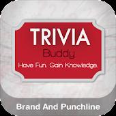Trivia Buddy Brand & PunchLine