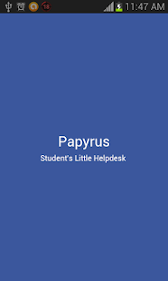Papyrus screenshot