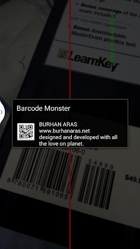 【免費工具App】BARCODE MONSTER-APP點子