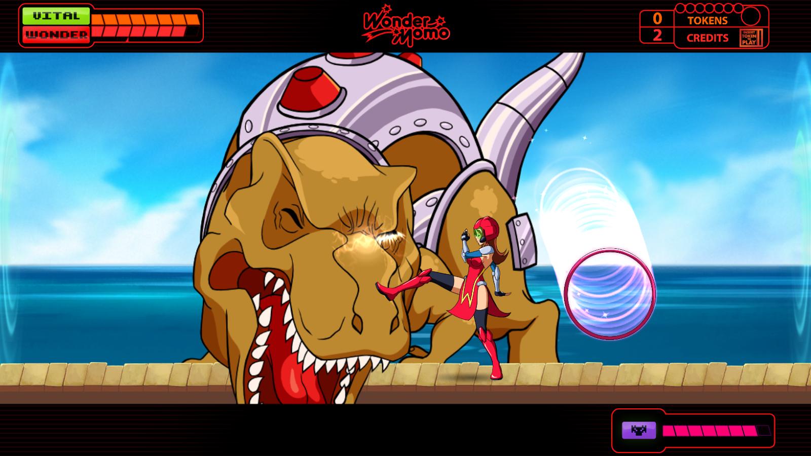 Wonder Momo: Typhoon Booster - screenshot