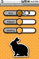 Screenshot of Rabbit Breeding Calculator