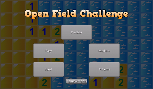 Minesweeper Open Field
