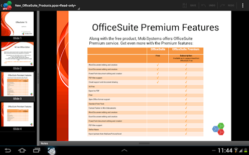 OfficeSuite Pro + PDF (Trial) Screenshot 31