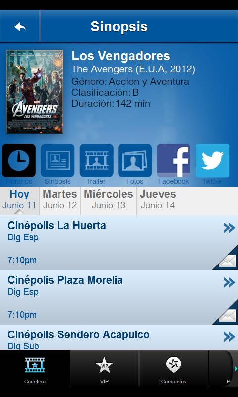 Cinépolis - screenshot