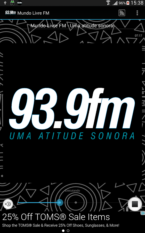 Mundo Livre FM- screenshot