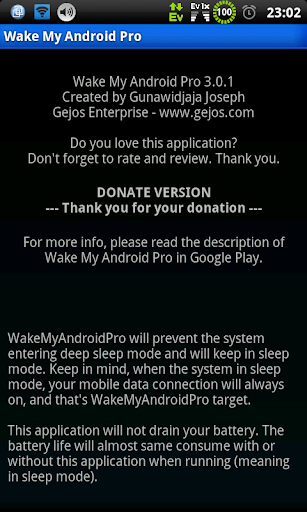 [Donate] Wake My Android Pro