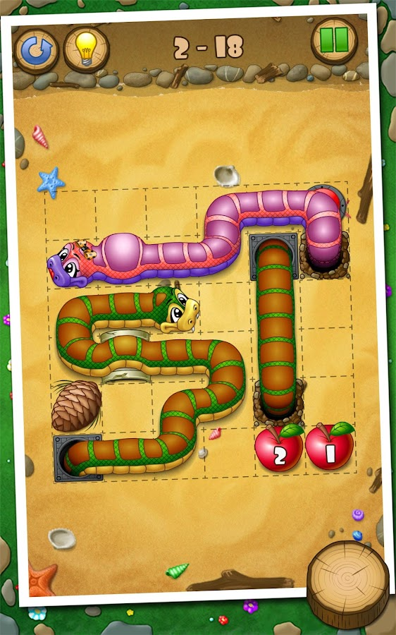 Snakes And Apples - screenshot