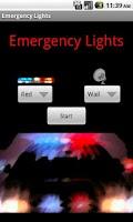 Screenshot of Emergency Lights