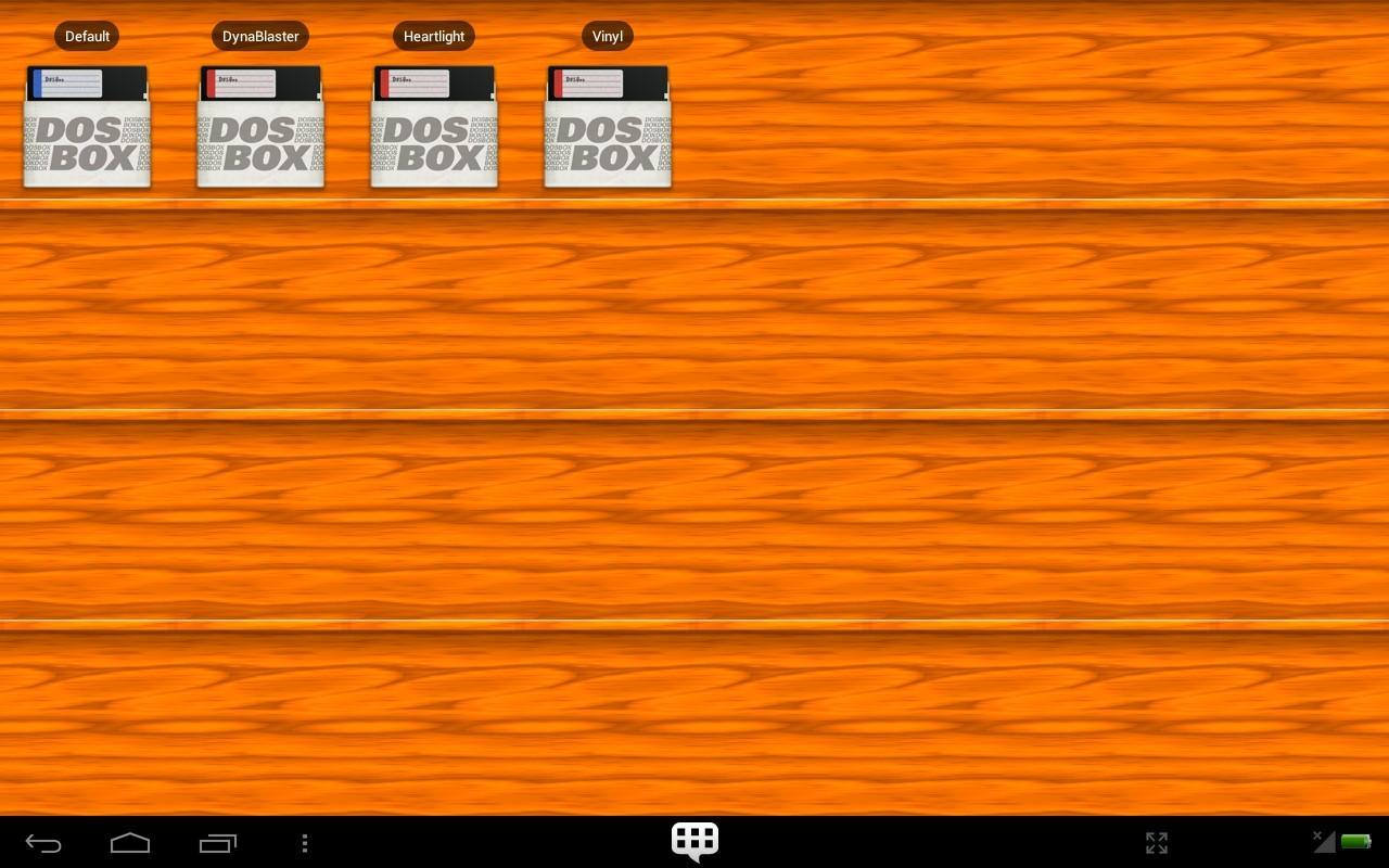 DosBox Manager - screenshot