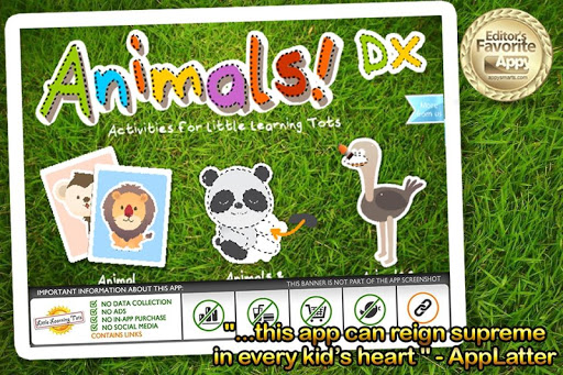 Learning Tots Animals DX