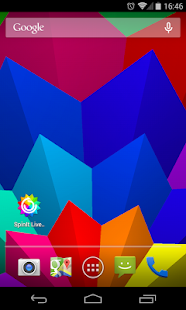 SpinIt FREE Live Wallpaper Screenshot