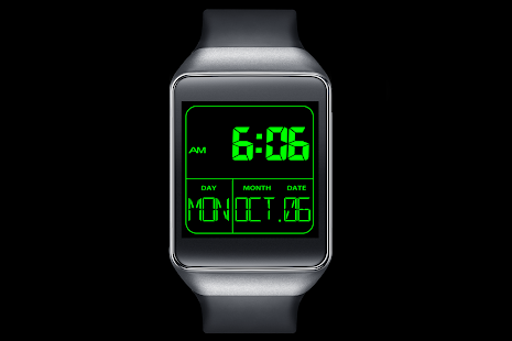 A02 WatchFace for Android Wear- screenshot thumbnail