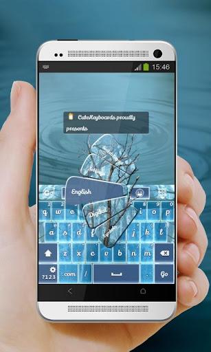 【免費個人化App】森林輝光 GO Keyboard-APP點子