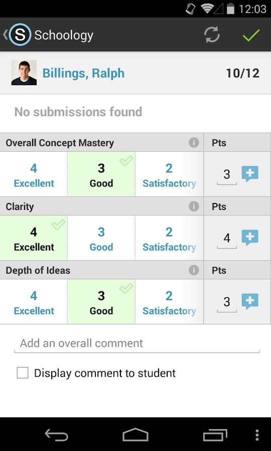 Schoology - screenshot
