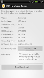 IOIO Hardwarer Tester - screenshot thumbnail