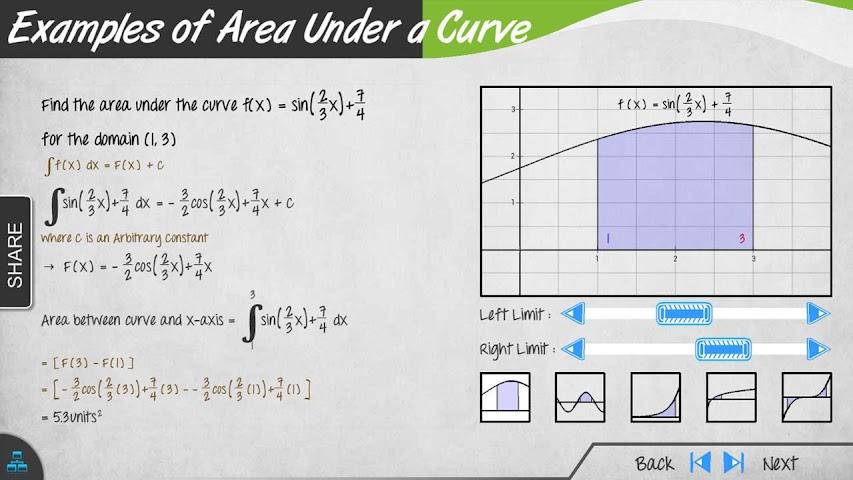 Screenshots for Calculus Math App Full Edition