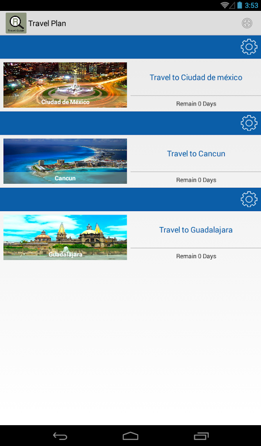 Tripper Travel Guide- screenshot