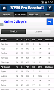 NYM Pro Baseball - screenshot thumbnail
