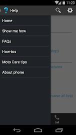 Motorola Help Screenshot 2