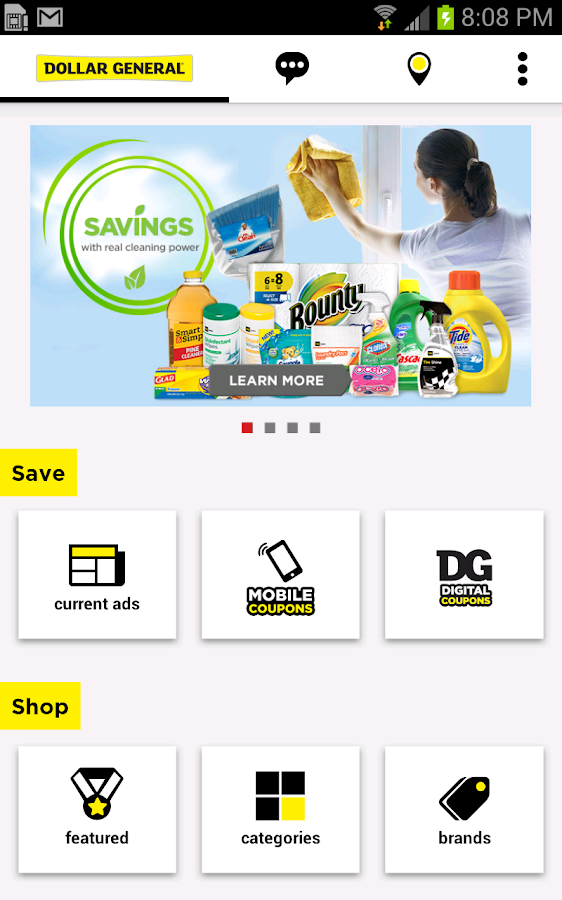 Dollar General - screenshot