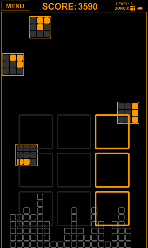 Orange Block Attack- screenshot