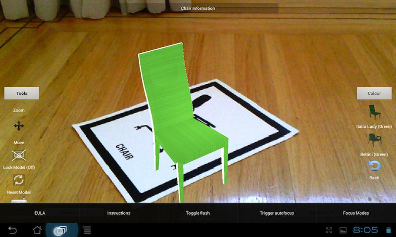 Chair - screenshot