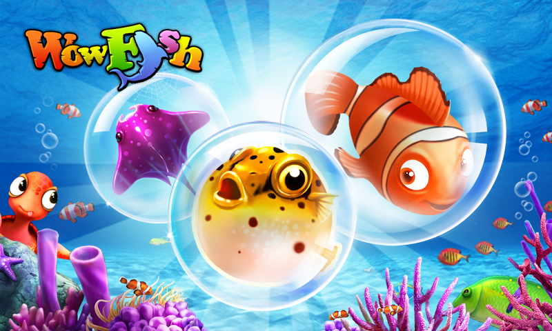 Wow Fish - Free Game- screenshot
