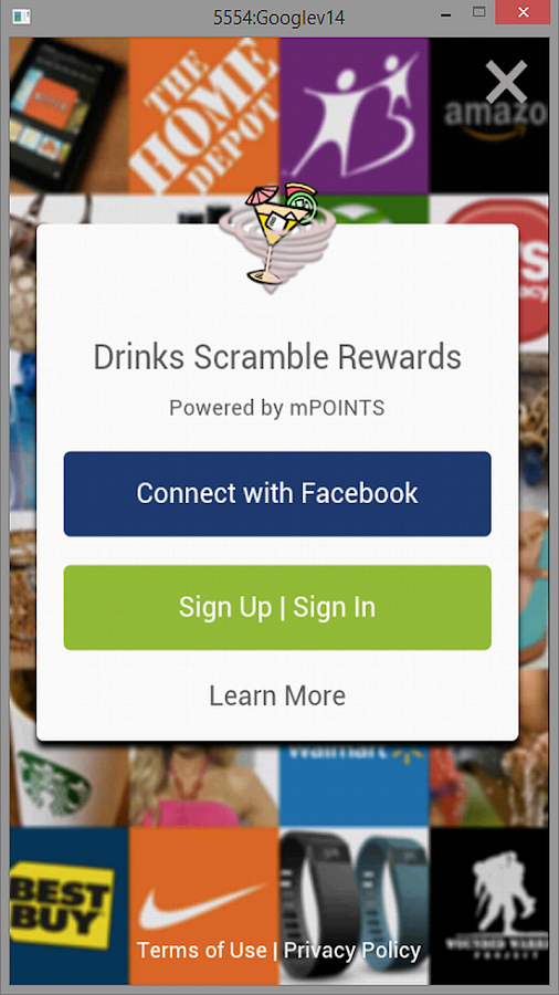 Drinks Scramble- screenshot
