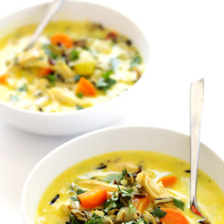 Curried Chicken and Wild Rice Soup