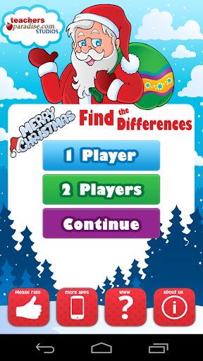 Christmas Find The Differences