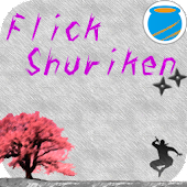 Flick Shuriken[Live Wallpaper]