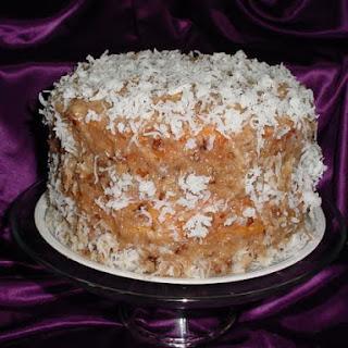 Butter Pecan Coconut Bundt Cake.