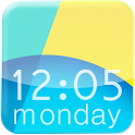 Nexus 5 KitKat - Digital Clock icon