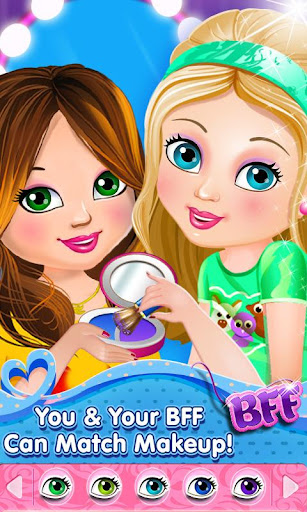 Best Friends Dress Up Makeup