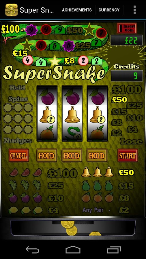 Super Snake Slot Machine- screenshot