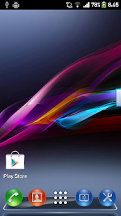 Xperia Z1 Next launcher theme - screenshot thumbnail