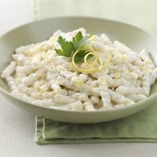Creamy Lemon Gemelli