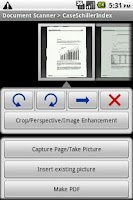 Screenshot of Document Scanner