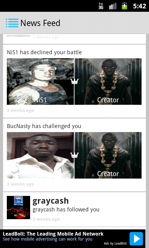 Beef - Video Rap Battle - screenshot