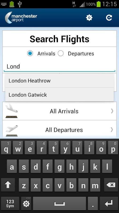 Manchester Airport - screenshot