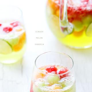 Ginger Melon Sangria