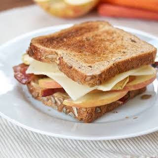 Bacon, Apple and Swiss on Whole Wheat.