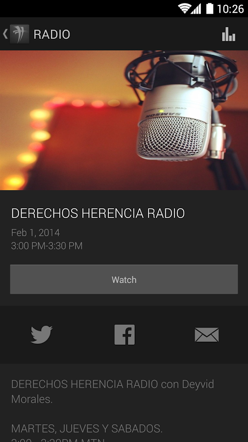 Derechos Herencia - screenshot