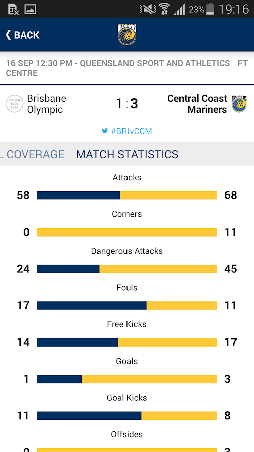 Central Coast Mariners - Android Apps on Google Play