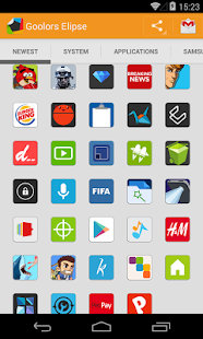 Goolors Elipse - icon pack - screenshot thumbnail