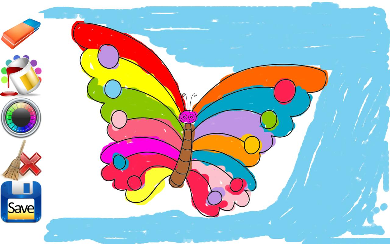 Kids Coloring Drawing Sheets Screenshot