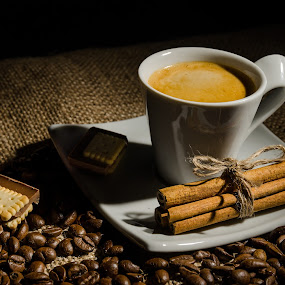 by Luca Arșinel - Food & Drink Alcohol & Drinks ( coffee beans, coffee, drink )